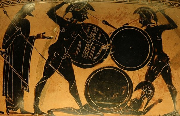 Греческая жвопись