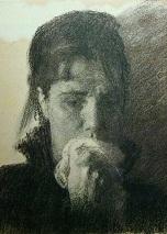 Крамской Иван Голова плачущей женщины. Этюд для картины