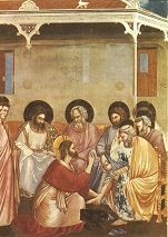 Giotto - Scrovegni - [30] - Washing of Feet