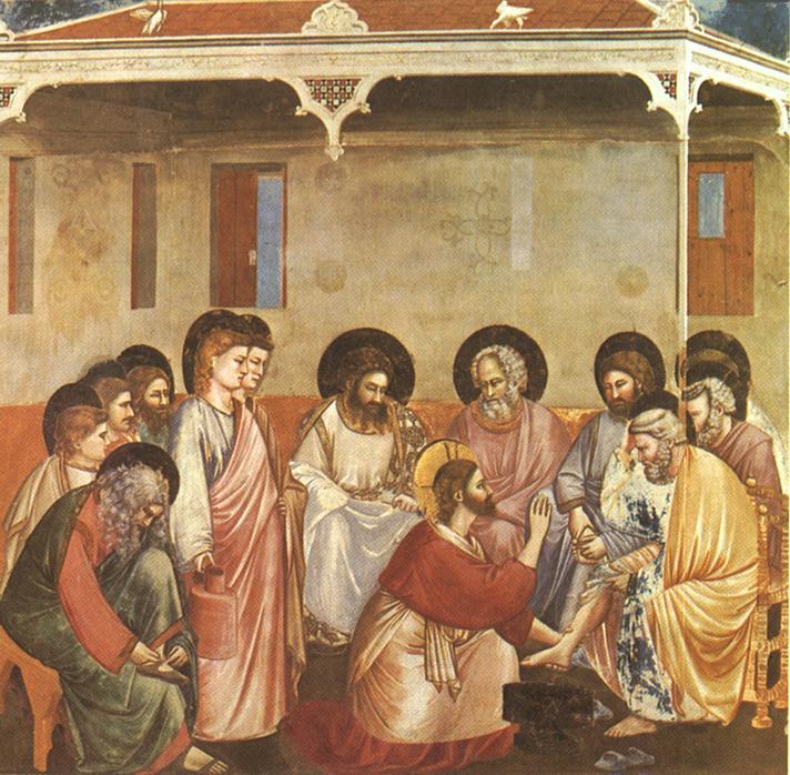 Giotto - Scrovegni - [30] - Washing of Feet