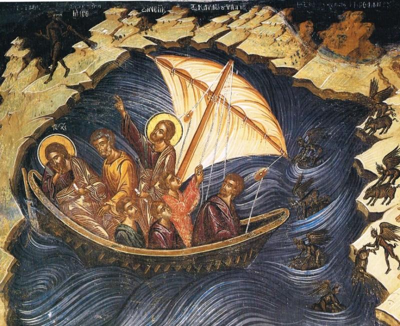 Христос усмиряет бурю