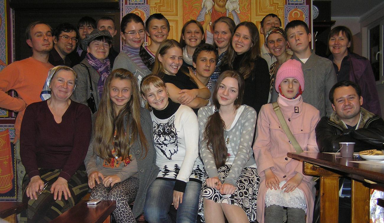 Встреча молодежных православных клубов Ростовской епархии
