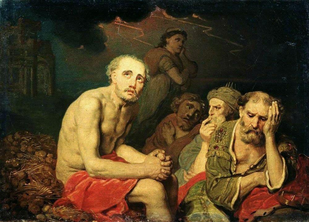 Боровиковский В.Л. Иов и его друзья