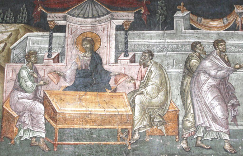 Мы надеялись, что Он избавит нас так, как мы ожидали. А Он вместо этого  умер и воскрес и приходит к нам, как приходит к Луке и Клеопе.