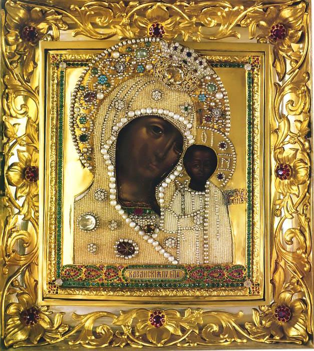 Семь известных списков Казанской иконы